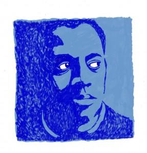 Guillem d'Efak blau